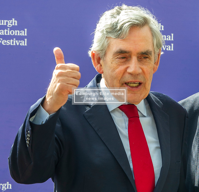 Pictured: Gordon Brown<br />James Gordon Brown HonFRSE (born 20 February 1951) is a British politician who was Prime Minister of the United Kingdom and Leader of the Labour Party from 2007 to 2010. He served as Chancellor of the Exchequer from 1997 to 2007.<br /><br />Ger Harley | EEm 15 August 2019