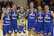 PARMA 16 FEBBRAIO 2011<br /> BASKET ALL STAR GAME FEMMINILE<br /> NAZIONALE ITALIANA FEMMINILE<br /> NELLA FOTO NAZIONALE ITALIANA FEMMINILE<br /> FOTO CIAMILLO