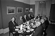 11/09/1962<br /> 09/11/1962<br /> 11 September 1962<br /> Ford International Fellowship Award for Ireland. In the Constitution Room of the Shelbourne Hotel, Dublin, 26 year old Sligo born Mr Patrick Joseph McGowan, M.Econ.Sc., of the Economic Division of the Central Bank of Ireland, who was leaving for the United States on the 13th as the Ford International Fellow for Ireland for 1962, was wished success in his studies by The U.S. Ambassador and members of An Bord Seolaireachtai Comalairte.