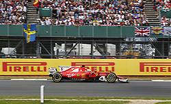 July 16, 2017 - Silverstone, Great Britain - Motorsports: FIA Formula One World Championship 2017, Grand Prix of Great Britain, .#5 Sebastian Vettel (GER, Scuderia Ferrari) (Credit Image: © Hoch Zwei via ZUMA Wire)