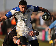 Newcastle - Sunday, March 7th, 2010: Matt Banahan of Bath Rugby during the Guinness Premiership match at Newcastle. (Pic by Steven Hadlow/Focus Images)