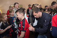 18/12/2017 - Junior Dees  Christmas party at Dens Park, Dundee, Picture by David Young -