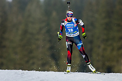 Jessica Jislova (CZE) during Women 15km Individual at day 5 of IBU Biathlon World Cup 2018/19 Pokljuka, on December 6, 2018 in Rudno polje, Pokljuka, Pokljuka, Slovenia. Photo by Ziga Zupan / Sportida