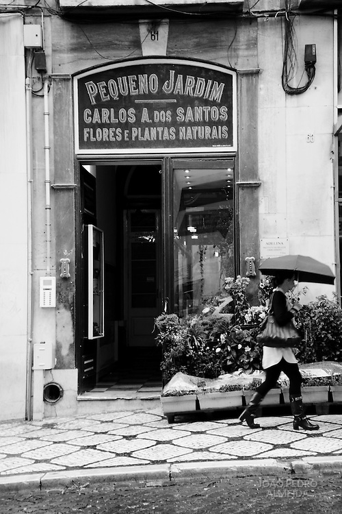 Old flower shop at Chiado