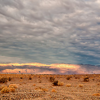 Sunrise near Kittfox Hills in Death Valley National Park