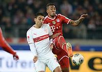 Fotball<br /> Tyskland<br /> 29.01.2014<br /> Foto: Witters/Digitalsport<br /> NORWAY ONLY<br /> <br /> v.l. Mohammed Abdellaoue, Jerome Boateng (Bayern)<br /> <br /> Fussball Bundesliga, VfB Stuttgart - FC Bayern München