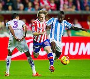 Real Sporting de Gijon vs Malaga CF