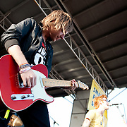 A Rocket To The Moon performing at Warped Tour 2009 in Ventura, California USA on June 28, 2009.