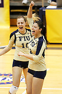 FIU Women's Volleyball Vs. Denver at the 2011 Sun Belt Conference Tournament played at the US Century Bank Arena on November 17, 2011 at 6:30 pm.  FIU beat Denver!