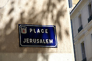 Jewish Synagogue at Place Jerusalem, Avignon France