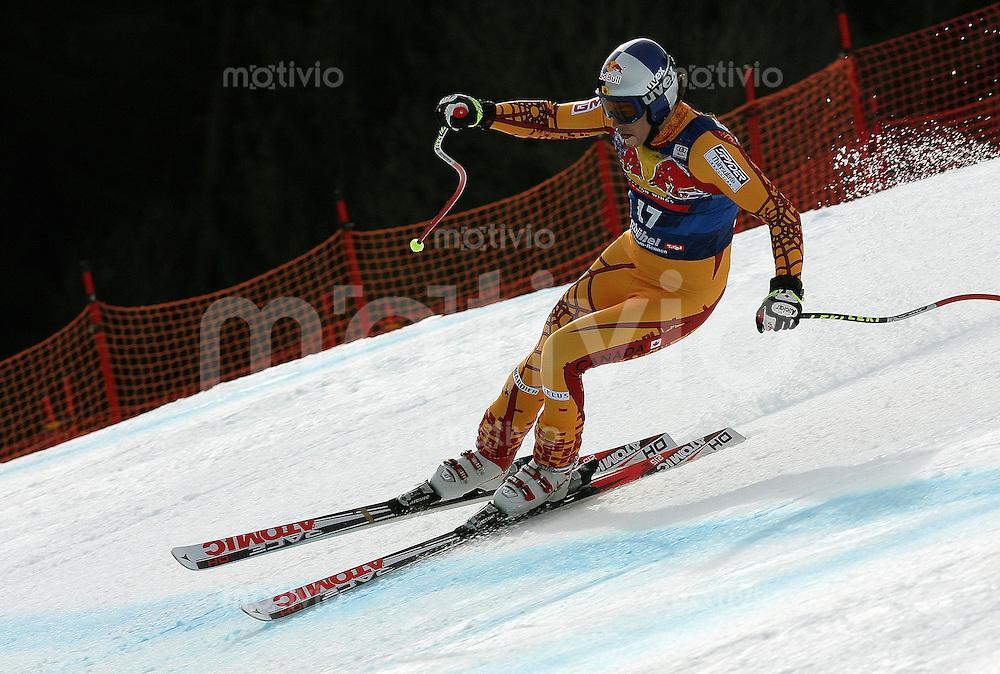 Ski Alpin;  Saison 2007/2008  16.01.2008 68. Hahnenkamm Rennen Abfahrt Erik Guay (CAN)