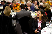 Sameena Karmally, a Democratic candidate for the Texas House in district 89, looks on during the Democratic Party of Collin County's annual Ann Richards Dinner at the Marriott Legacy Town Center in Plano, Texas on July 2, 2013. (Cooper Neill / for The Texas Tribune)