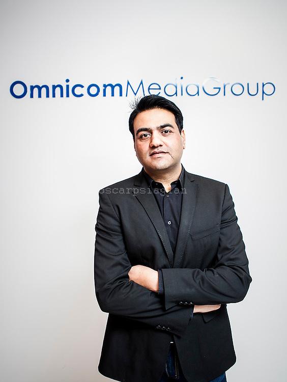 CEO of Omnicom Media Group, Rajat Basra