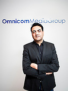 CEO of Omnicom Media Group, Rajat Basra