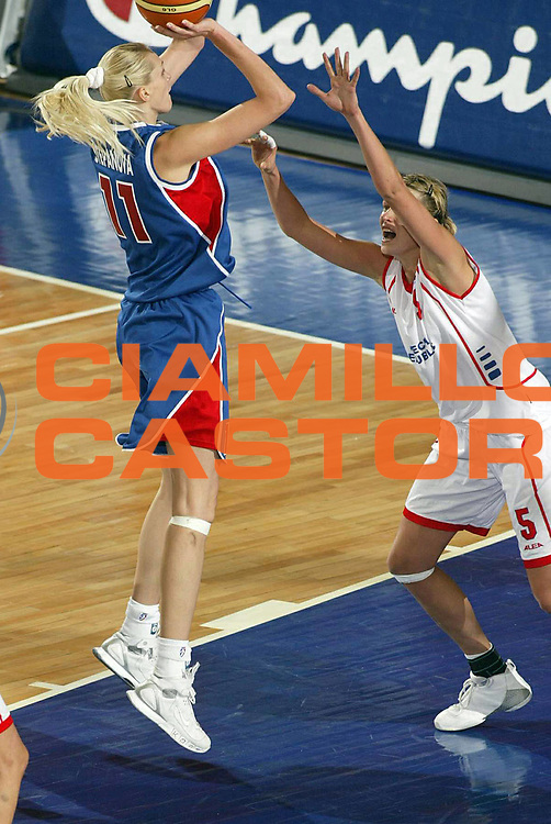 DESCRIZIONE : Ankara Eurobasket Women 2005 Rep Ceca-Russia Finale<br /> GIOCATORE : Stepanova<br /> SQUADRA : Russia<br /> EVENTO : Eurobasket Women 2005 Campionati Europei Donne 2005<br /> GARA : Repubblica Ceca Russia Czech Republic Russia<br /> DATA : 11/09/2005<br /> CATEGORIA :<br /> SPORT : Pallacanestro<br /> AUTORE : Ciamillo&amp;Castoria/Fiba Europe