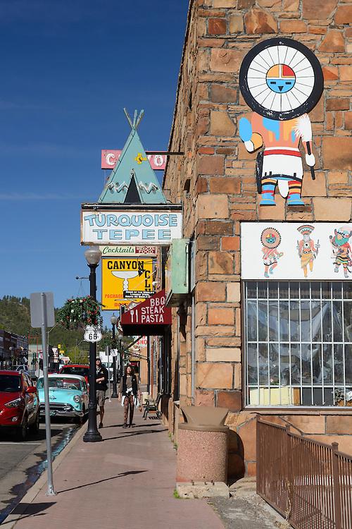 Route 66, town of Williams,Arizona, USA