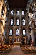 Inside Peterborough Cathedral, Peterborough, Cambridgeshire. UK
