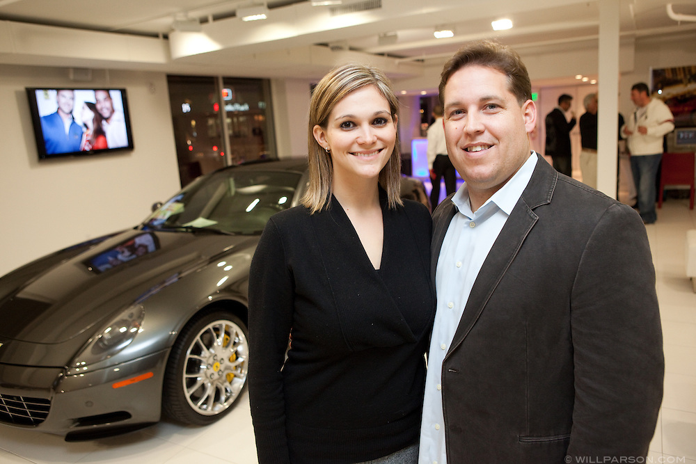 Kristen and Andrew Haden from La Jolla