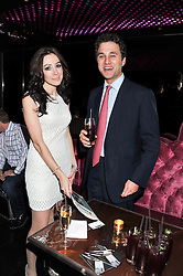 MARINA KIM and THOMAS VAN STRAUBENZEE at a party to celebrate the launch of Pomp magazine - a magazine representing London Luxury without the Ceremony focusing on the luxury, fashion and culture of the Capital, hosted by Tom Parker Bowles and the Directors of Pomp Magazine held at The Cuckoo Club, Swallow Street, London on 17th November 2011.