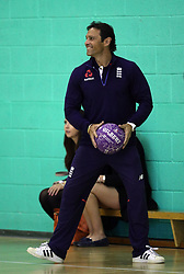 Mark Ramprakash at a masterclass at the the Coach Core Awards at Loughborough University.