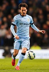 Manchester City's David Silva  - Photo mandatory by-line: Matt McNulty/JMP - Mobile: 07966 386802 - 04/03/2015 - SPORT - football - Manchester - Etihad Stadium - Manchester City v Leicester City - Barclays Premier League