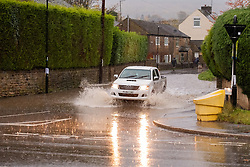 Flooding at the Junction of Whitley Lane and Church Street Ecclesfield<br /> <br />  Copyright Paul David Drabble<br />  07 November 2019<br />  www.pauldaviddrabble.co.uk