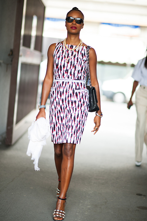 Shala Monroque at Marni