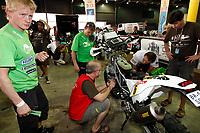 MOTORSPORT - DAKAR ARGENTINA CHILE 2011 - VERIFICATIONS / SCRUTINEERING : BUENOS AIRES (ARG) - 29 TO 31/12/10 - PHOTO : FRANCOIS FLAMAND / DPPI - <br /> ULLEVALSETER PÅL ANDERS (NOR) - KTM / TEAM SCANDINAVIA - AMBIANCE PORTRAIT