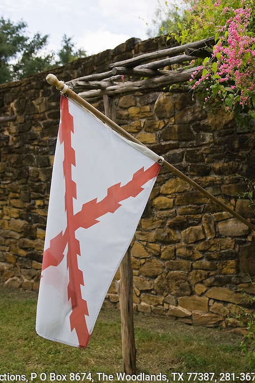 The Spanish Cross of Burgundy flag is thought to be the prinicipal flag in use when Spain ruled the Americas.  The diagonal red cross is called a saltire.  The saltire was the symbol Philip I, father of Charles I king of Spain.