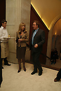Christopher Simon Sykes and Penelope Tree, Burberry celebrates the opening of the Hockney exhibition and their 150th anniversary with a party at the National Portrait Gallery. 11 October 2006. -DO NOT ARCHIVE-© Copyright Photograph by Dafydd Jones 66 Stockwell Park Rd. London SW9 0DA Tel 020 7733 0108 www.dafjones.com