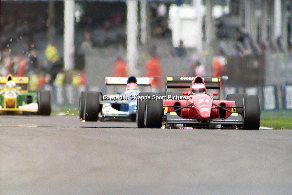 Ivan Capelli, Italian, Scuderia Ferrari, British Formula One Grand Prix, Silverstone, July 1990British Formula One, Practice Grand Prix, Sllverstone, 12th July 1992