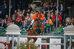 Zoer Albert (NED) - Oki Doki<br /> European Championship Jumping Windsor 2009<br /> © Hippo Foto - Dirk Caremans