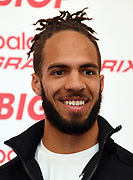 Boris Berian during a  press conference prior to the New Balance Indoor Grand Prix in Boston on Friday, Feb. 9, 2018.