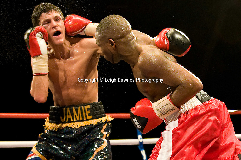 Jamie McDonnell defeats Ian Napa at Brentwood Centre 22nd January 2010, Frank Maloney Promotions,Credit: © Leigh Dawney Photography