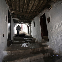 Alleyway in the medina, Tetouan, Morocco