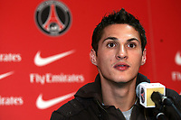 Fotball<br /> Frankrike<br /> Foto: Dppi/Digitalsport<br /> NORWAY ONLY<br /> <br /> FOOTBALL - MISCS 2006/2007 - CLEMENT PRESENTATION IN PARIS SG - 26/01/2007 - JEREMY CLEMENT DURING THE PRESS CONFERENCE
