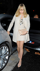 Model Suki Waterhouse enjoy a night out to the popular Chiltern Firehouse in Marylebone, London, UK. 30/04/2014<br />
