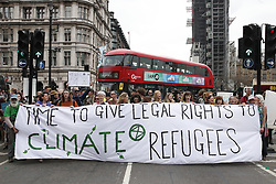 © Licensed to London News Pictures. 24/04/2019. London, UK. Climate change protestors block Parliament Square. Extinction Rebellion demonstrations are continuing  in a small scale in parts of the capital. Photo credit: Peter Macdiarmid/LNP