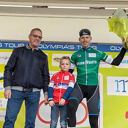 20-10-2019: Wielrennen: OlympiaTour: Tiel<br />Groene trui Jason van Dalen