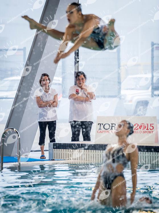 Finale Squadra<br /> ALL AROUND<br /> FIN Campionati Assoluti Invernali di Nuoto Sincronizzato 2015<br /> Torino, Italia - 6/8 Febbraio 2015<br /> Day02 - 8 Febbraio<br /> Photo Pasquale F. Mesiano/Deepbluemedia/Inside