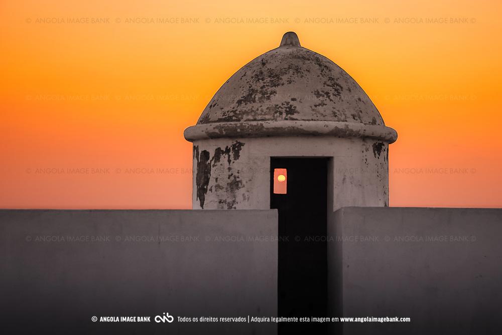 Na Fortaleza São Miguel em Luanda. Angola