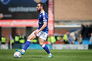 Chesterfield midfielder Robbie Weir (28) during the EFL Sky Bet League 2 match between Chesterfield and Mansfield Town at the Proact stadium, Chesterfield, England on 14 A pril 2018. Picture by Nigel Cole.