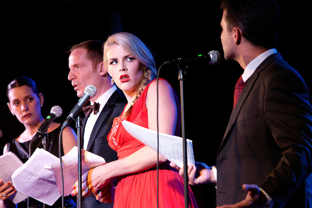 Paget Brewster, Marc Evan Jackson, Busy Philipps - Thrilling Adventure Hour - The Bell House - September 30, 2012