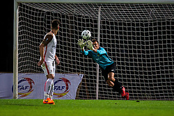 Adnan Golubovic of NK Domzale during football match between NK Domzale and FC Lusitanos Andorra in second leg of UEFA Europa league qualifications on July 7, 2016 in Andorra la Vella, Andorra. Photo by Ziga Zupan / Sportida