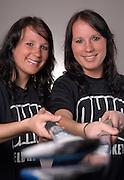 ?Rachel and Estienne Coetzee .(Estienne-shorter and Rachel -taller).?Twins from South Africa.?Undergraduate Management Information Systems majors