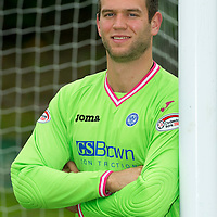 St Johnstone sign keeper Alan Mannus from Irish club Shamrock Rovers...21.07.11<br /> see story by Gordon Bannerman Tel: 07729 865788<br /> Picture by Graeme Hart.<br /> Copyright Perthshire Picture Agency<br /> Tel: 01738 623350  Mobile: 07990 594431