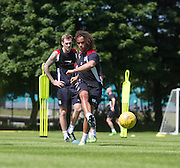 Dundee new boy  Yordi Teijsse  -  Dundee FC pre-season training at Dundee University Grounds, Riverside<br /> <br />  - &copy; David Young - www.davidyoungphoto.co.uk - email: davidyoungphoto@gmail.com