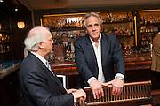 HENRY PORTER, Vanity Fair Lunch hosted by Graydon Carter. 34 Grosvenor Sq. London. 14 May 2013