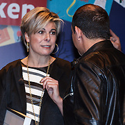 NLD/Amsterdam/20131112 - Presentatie DE Sinterklaasboeken, prinses Laurentien in gesprek met Najib Amhali
