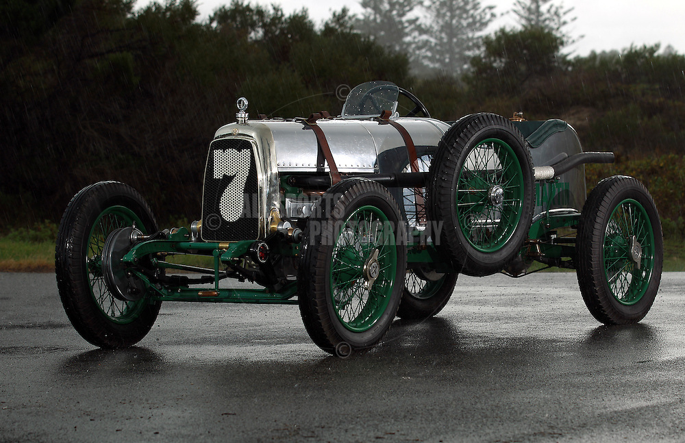 PERTH, AUSTRALIA - JUNE 19: The 1923 Aston Martin, owned by Peter Briggs is pictured on June 19, 2012 in Perth, Australia. (Photo by Paul Kane)